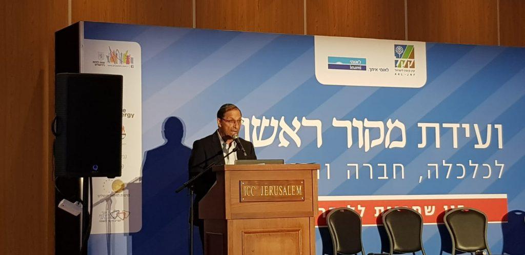 אמנון אלדר בועדת מקור ראשון. צילום: שמוליק קליין